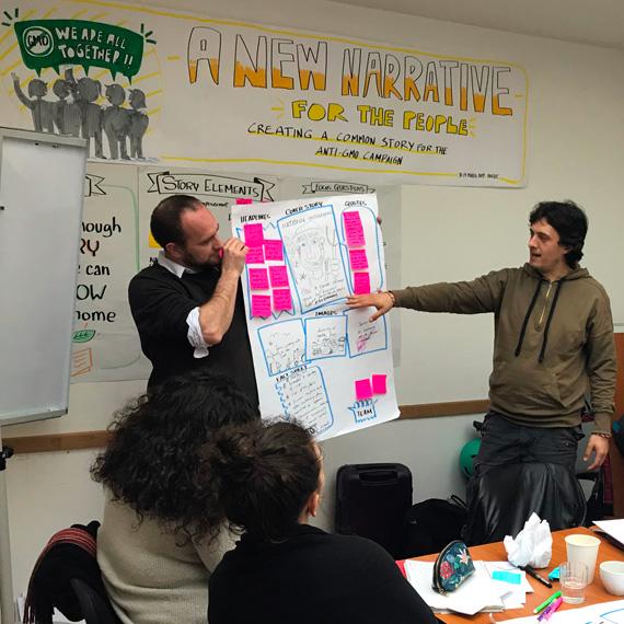 Greens/Efa: Building A New Narrative For The Anti-Gmo Campaign